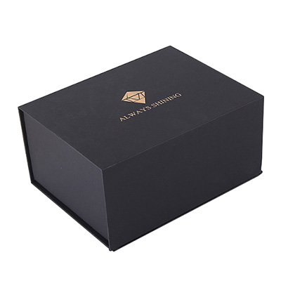 Collapsible Black Luxury Corporate Gift Box